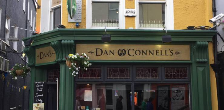 Friday trad session at Dan O'Connell's