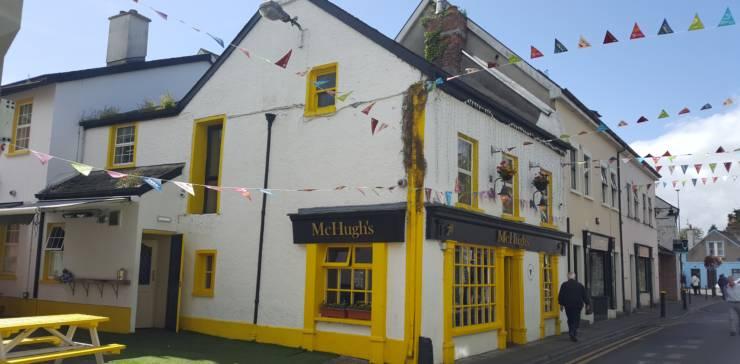'No Leaf Clover' at McHugh's